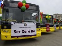 Diyarbakır Belediyesi 20'si doğal gazlı 30 otobüs aldı