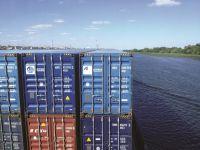 Arkas Line konteynerleri Ukrayna'nın en uzun nehrinde