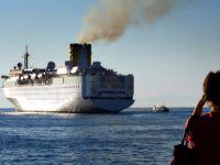 Irak Limanı'na tarihinin en büyük gemisi yanaştı