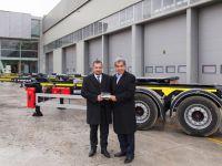 Erta Lojistik'in ilk tercihi TIRSAN konteyner taşıyıcısı