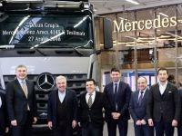 Orkun Grup'a 25 adet Mercedes-Benz inşaat aracı