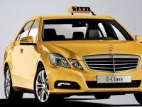 Yollarda BMW, Mercedes taksiler görebiliriz
