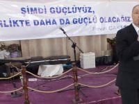 Fevzi Çakmak UND Başkanlığı'na Hatay'dan start verdi
