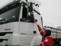 Kızılay Kapıkule'de Mahsur Kalan Şoförlere Umut Oldu