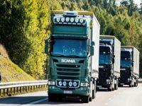 Scania'nın otonom sürüş teknolojisi hayata geçiyor