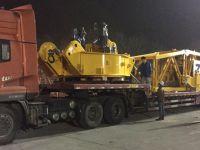 Gama Intermodal, Zoomlion'un dev kule vinçlerini taşıdı