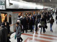 Raylı sistemle İstanbul'un 38 katı kişi taşındı