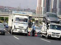 Büyük tonajlı araçlara feribot engeli