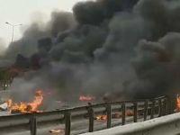 İstanbul'da helikopter düştü! Çok sayıda ölü var!