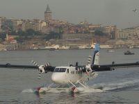İstanbul'da deniz uçaklarıyla yolcu taşınacak