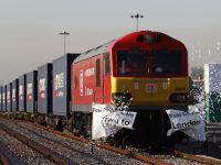 İngiltere'den Çin'e ilk yük treni yola çıktı