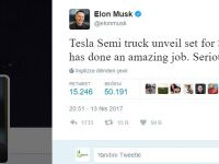 Tesla, elektrikli kamyonunu sonbaharda tanıtacak