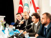 KOSDER, Girne Üniversitesi'nde denizci öğrenciler ile bir araya geldi