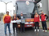 Galatasaray basketbol takımı da TEMSA'yı seçti