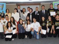 Trafikte Genç Fikirler'de kazananlar belli oldu