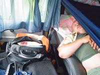 Almanya'da artık araç içinde dinlenme yasak