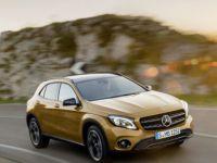 Yenilenen Mercedes-Benz GLA Türkiye'de satışa sunuldu