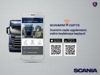 """""""SCANIA'm CEPTE""""  ile tüm hizmetler tek platformda"""