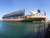Dünyanın en büyük enerji gemisi Gana için gün sayıyor
