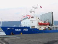 M/V AHMET ONEL, Monfalcone Limanı'nda tutuklandı