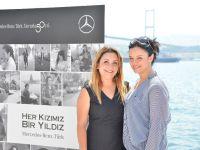 """Mercedes'in """"Yıldız Kızları"""" basınla buluştu"""