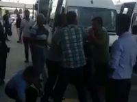 Sabiha Gökçen'de yolcu kapma kavgası: Yaralılar var