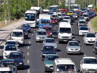 Trafikteki araç sayısı Ekim'de arttı