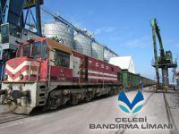 Gemiden vagona direkt tahliye, Çelebi Bandırma'ya talebi artırdı