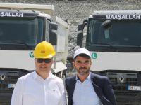 """Uysal Madencilik, ağır yüklerini Renault'un """"ağır abisi"""" ile taşıyacak"""