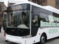 Otokar'ın ilk elektrikli otobüsü Rusya'dan geldi