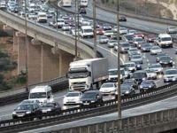Kurban Bayramı'nda yolları 15.5 milyon araç kullandı