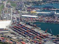 Mersin Limanı'nda taklit rulmanlar imha edildi