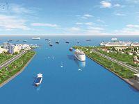 Kanal İstanbul'un genişliği 600 m'yi bulacak