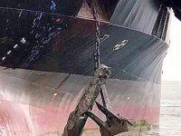 Tankerin çapası torpidoya takıldı