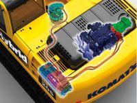Komatsu'nun hibrit iş makinaları satışta