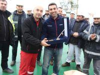 'U.N MARMARA'' gemisi Sefine'de gençleşti