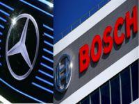 Mercedes-Bosch ortaklığından sürücüsüz taksi geliyor