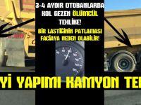 Sanayi yapımı kamyon terörü