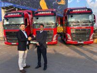 Akbulut Nakliyat'ın tercihi Volvo Trucks oldu