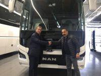 İlk 13 metre 2+1 VIP MAN Mapar'a teslim edildi