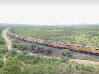 Çöle saklanan dev trenin inanılmaz sırrı