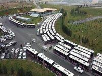 İETT kontak kapatan otobüsleri bağlamaya başladı