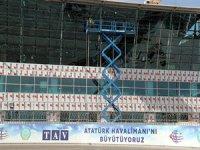 Atatürk Havalimanı yeni terminal için gün sayıyor