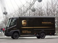 UPS, süper şarjlı elektrikli filosu için Londra'da