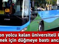 Halk otobüsünde kabus