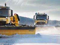 Norveç, havalimanlarında otonom kar küreme araçları kullanıyor