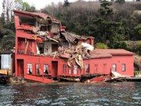 Yalıya çarpan geminin personeli kazayı anlattı