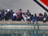 Kaçak göçmenler Ro- Ro gemisindeki konteynerde yakalandı