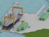 İlk uçak gemisi için inşa havuzu yapılıyor