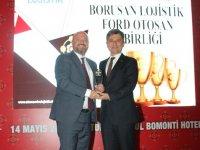 """Borusan Lojistik'e """"Yılın Lojistik Projesi"""" Ödülü"""